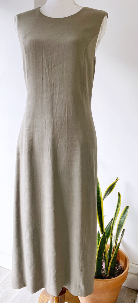 They Sken's Theory Gray Sheath Dress Sz 8/10 (f)