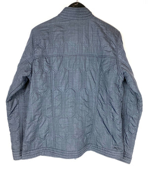 Horny Toad Gray Quilted Jacket Sz Large (f)