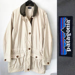 Patagonia Khaki Basic Jacket Sz Large (F)