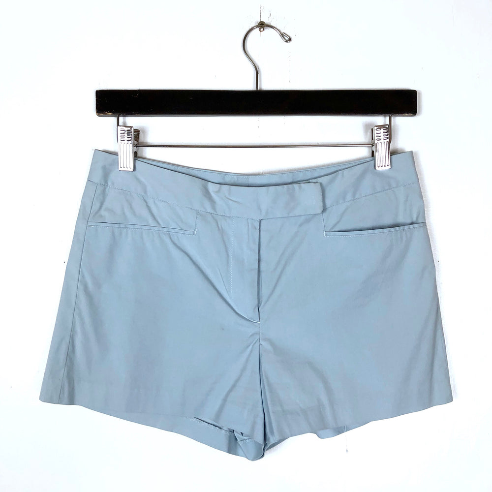 Theory Baby Blue Chino Shorts Sz 2