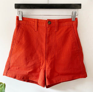 Madewell Burnt Orange Shorts (B)
