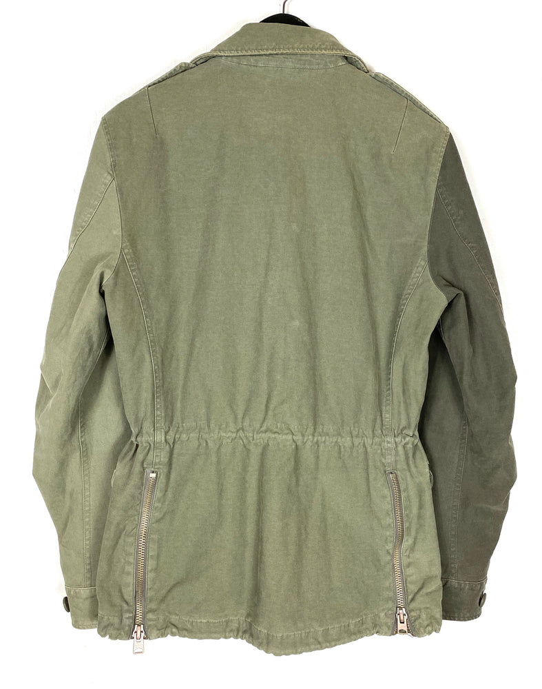 All Saints Addison Army Jacket Sz XS (f)