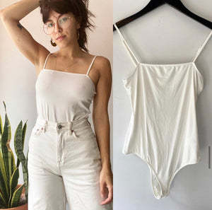 LBB White Romy Bodysuit New With Tags