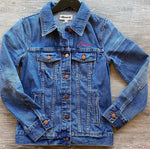 Madewell Embroidered Libra Jean Jacket Sz XS