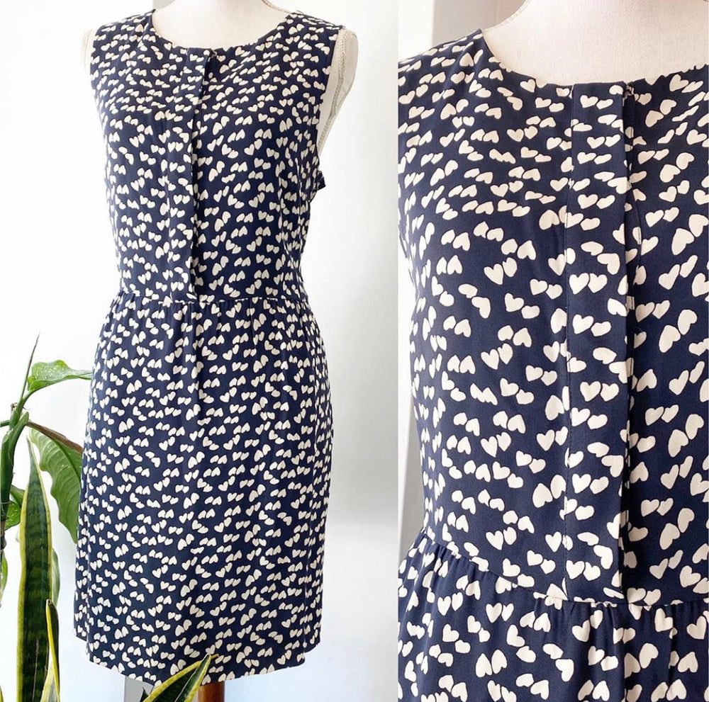 J.Crew Heart Dress Sz 12