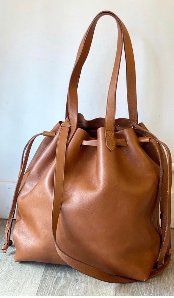 Madewell Medium Drawstring Transport Tote