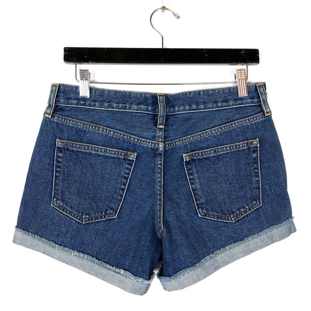 NWT J.Crew Blue Denim Shorts Sz 26 (f)