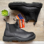 NEW Blundstone Black Work Boots AU 7.5