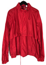 Vintage Woolrich Red Windbreaker Jacket Sz XL (f)