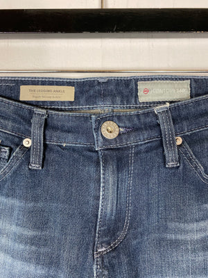 Adriano Goldschmied The Legging Ankle Skinny Jeans Sz 24 (f)