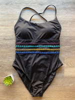 NWT Soluna Solstice Stitch One Piece Sz Medium (B)