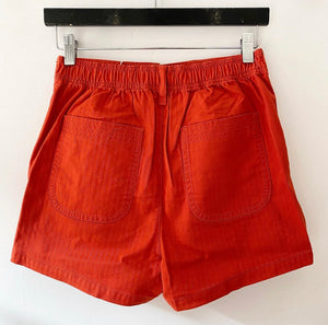 Madewell Burnt Orange Shorts