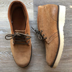 NEW Frye Freeman Tan Suede Leather Chukka Boots Sz 10 (f)