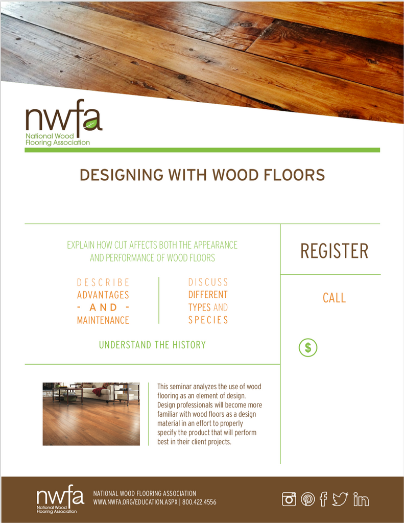 NWFA Architect & Design Continuing Education