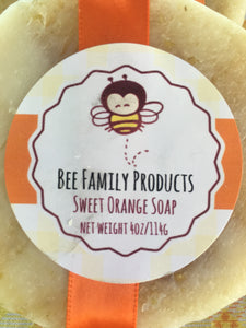 Sweet Orange Essential Oil Soap