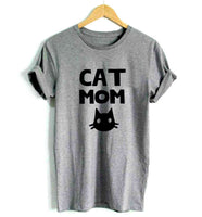 """Cat Mom"" Damenshirt - CrazyCatmom"