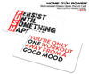 Motivational Fitness Quote Pocket Card (Good Mood/Persist)