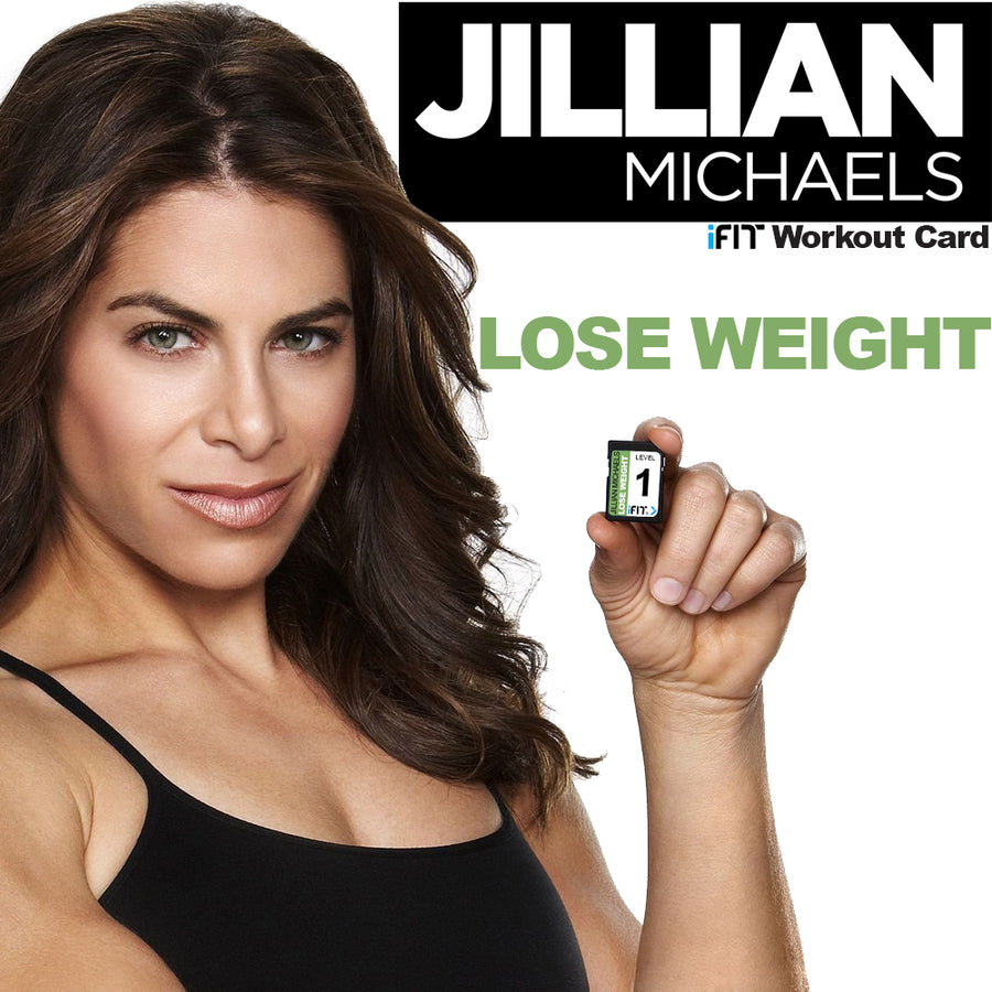 "iFIT | ""LOSE WEIGHT"" with Jillian Michaels (iFIT Workout Cards)"