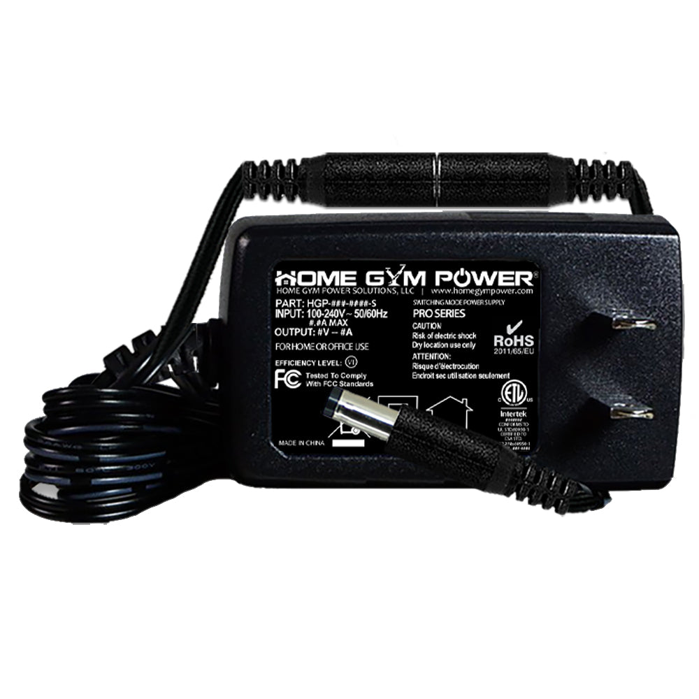 Home gym power ac adapter breakaway power cord compatible with