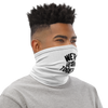 "FACE MASK / NECK GAITER - ""WE'RE IN THIS TOGETHER"" (WHITE)"