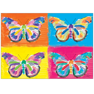 Four Butterflies