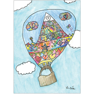 Hot Air Balloon (8 Cards/8 Envs)
