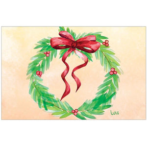 Holiday Wreath by Luis