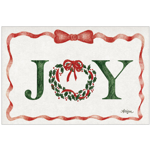 Joy Ribbon by Allison