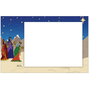 Three Wisemen Photo Card Horizontal by Belen