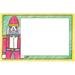 Major Nutcracker Photo Card Horizontal by Monte