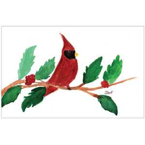 Cardinal and Holly by Jove