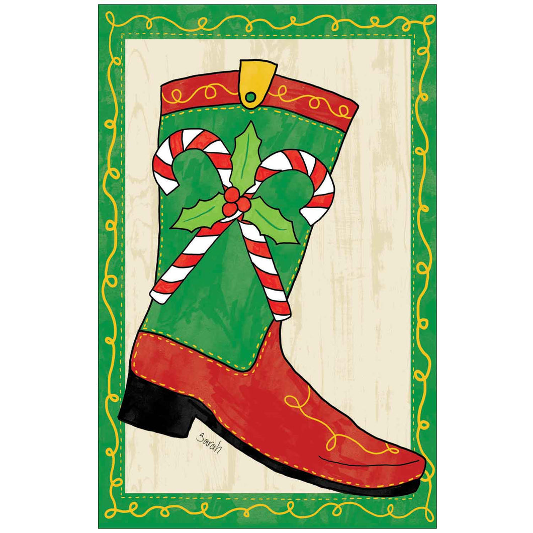 Christmas Boot by Sarah