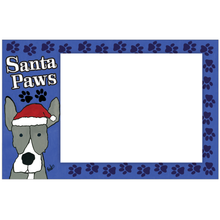 Santa Paws Photo Card Horizontal by Kaden