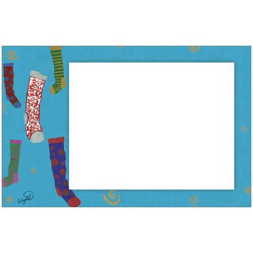 Stuff My Stocking Horizontal Photo Card by Carrington