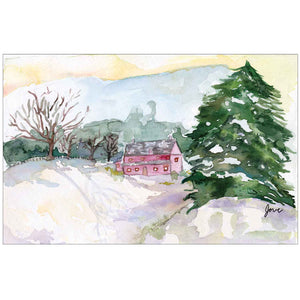 Winter Landscape by Jove