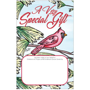Cardinal In Tree Contribution Card