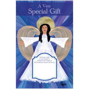 Angel Of Light Contribution Card