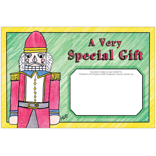 Major Nutcracker Contribution Card