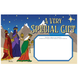 Three Wise Men Contribution Card