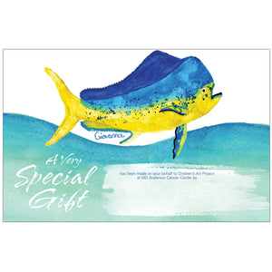 Mahi Mahi Contribution Card