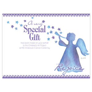 BLUE ANGEL CONTRIBUTION CARD $10
