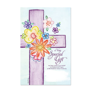 Purple Cross Contribution Card