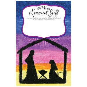 Nativity Contribution Card