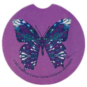 Abstract Butterfly Car Coaster