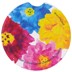 Big Flowers Car Coaster