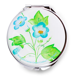 Blue Blossoms Pill Box