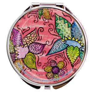 Flower Pattern Pill Box
