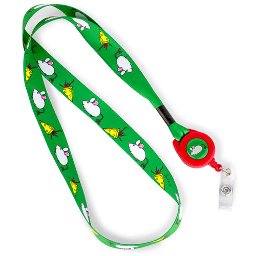 Christmas Mouse Lanyard