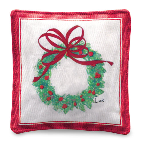 Joy Wreath Mug Mat