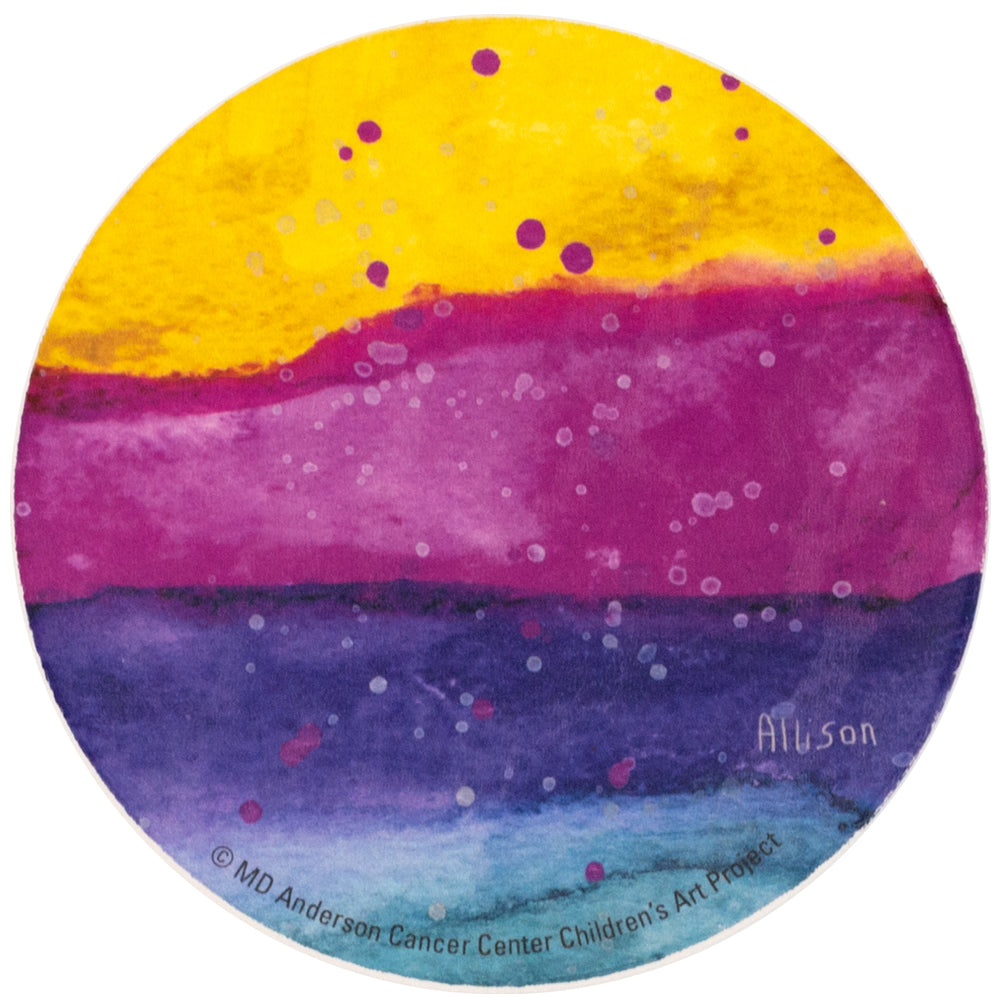 Colorful Abstract Home Coaster